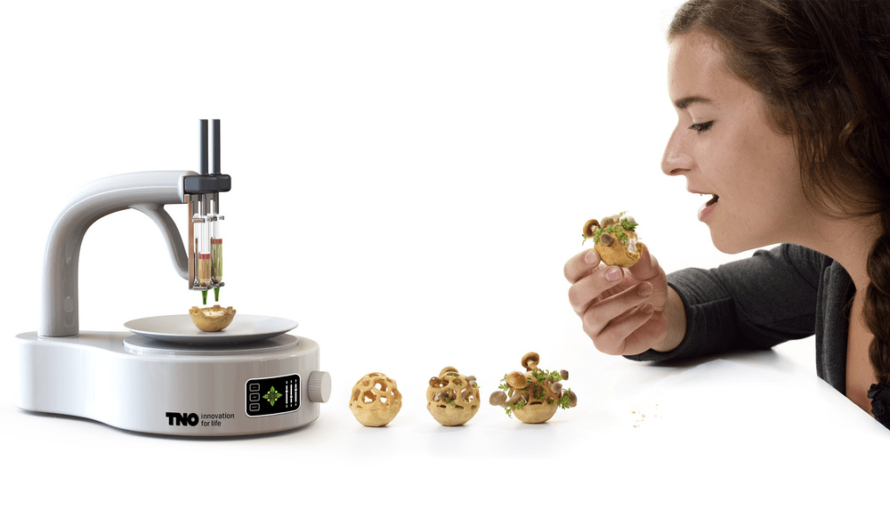 How 3d food printers can make life better for Programme 3d cuisine